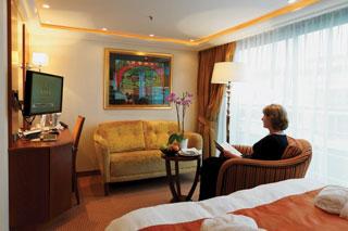 Suite cabin on AmaCello