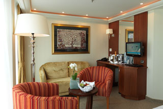 Suite cabin on AmaDolce