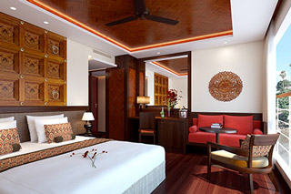 Suite cabin on Avalon Myanmar