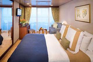 Balcony cabin on Azamara Quest