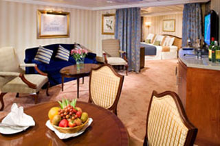 Suite cabin on Azamara Quest