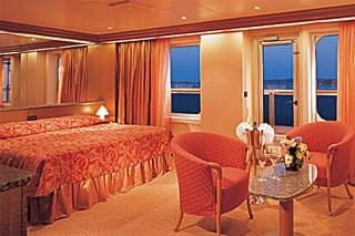 Grand Suite on Carnival Triumph
