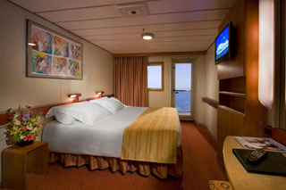 Stateroom with Standard Balcony on Carnival Ecstasy
