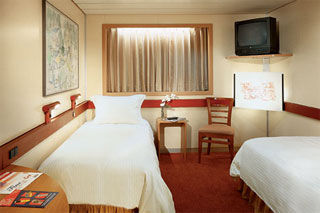 Interior Stateroom on Carnival Elation