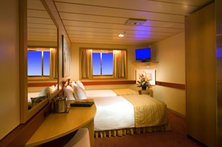 Oceanview Stateroom on Carnival Fantasy