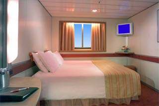 Oceanview Stateroom on Carnival Fascination