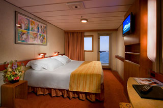 Balcony cabin on Carnival Fascination