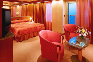 Grand Suite on Carnival Conquest