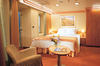 Premium Balcony Stateroom on Carnival Conquest