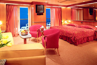 Grand Suite on Carnival Legend