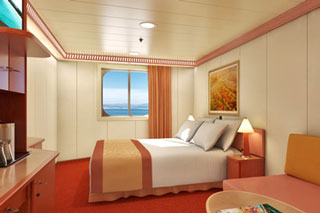Oceanview Stateroom on Carnival Glory