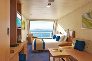 Scenic Oceanview Stateroom on Carnival Glory