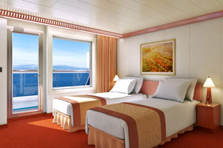 Premium Balcony Stateroom on Carnival Glory