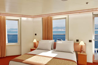 Premium Vista Balcony Stateroom on Carnival Glory