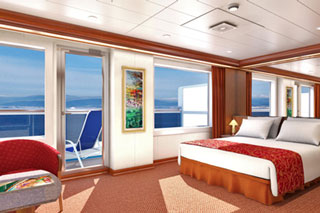 Grand Suite on Carnival Glory