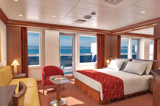 Ocean Suite on Carnival Glory