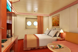 Porthole Stateroom on Carnival Glory