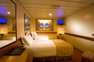 Porthole Stateroom on Carnival Inspiration