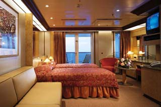 Premium Balcony Stateroom (obstructed view) on Carnival Miracle
