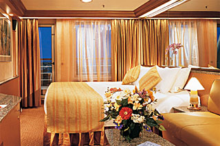 Junior Suite (obstructed view) on Carnival Sensation
