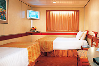 Interior Stateroom on Carnival Sensation