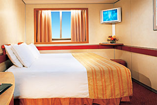 Oceanview Stateroom on Carnival Sensation