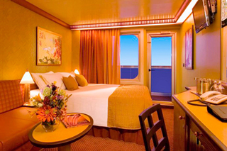 Cabins on Carnival Splendor