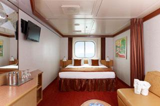 Oceanview cabin on Carnival Dream