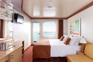 Cabins on Carnival Dream