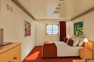Interior Stateroom on Carnival Magic