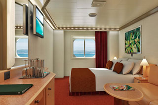 Deluxe Oceanview Stateroom on Carnival Magic