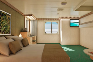 Cloud 9 Spa Oceanview Stateroom (Obstr view) on Carnival Magic