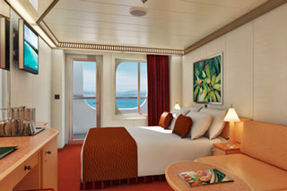 Cove Balcony Stateroom on Carnival Magic