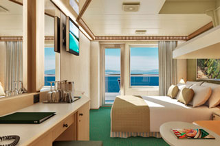 Cloud 9 Spa Balcony Stateroom on Carnival Magic
