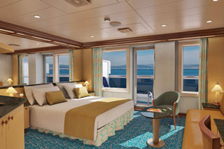Cloud 9 Spa Suite on Carnival Magic