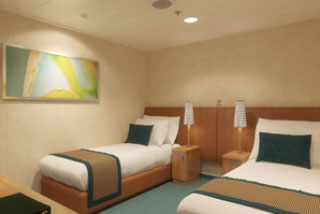 Cabins on Carnival Breeze