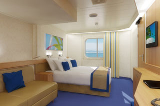 Oceanview Stateroom on Carnival Sunshine