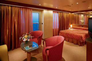 Grand Suite on Carnival Sunshine