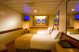 Porthole Stateroom on Carnival Sunshine