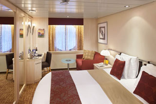 Oceanview cabin on Celebrity Constellation