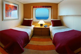 Oceanview cabin on Celebrity Century