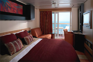 Balcony cabin on Celebrity Century