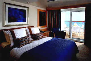Suite cabin on Celebrity Century