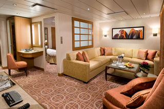 Celebrity Suite on Celebrity Solstice