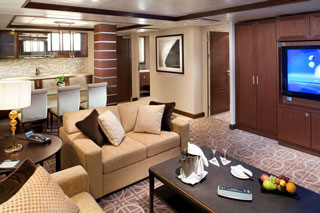 Royal Suite on Celebrity Solstice