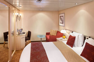 Inside cabin on Celebrity Millennium