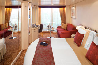 Balcony cabin on Celebrity Millennium