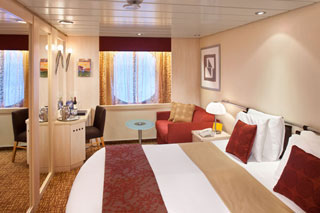 Oceanview cabin on Celebrity Summit