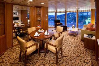 Suite cabin on Celebrity Summit