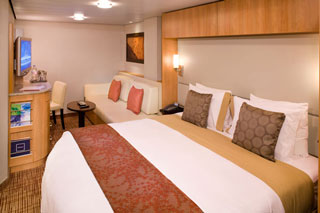 Interior Stateroom on Celebrity Silhouette